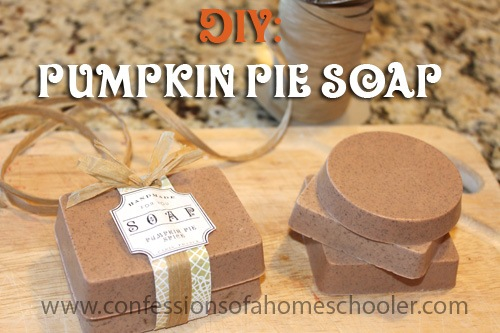 DIY: Pumpkin Pie Soap Tutorial