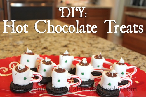 DIY Hot Chocolate Cup Treats