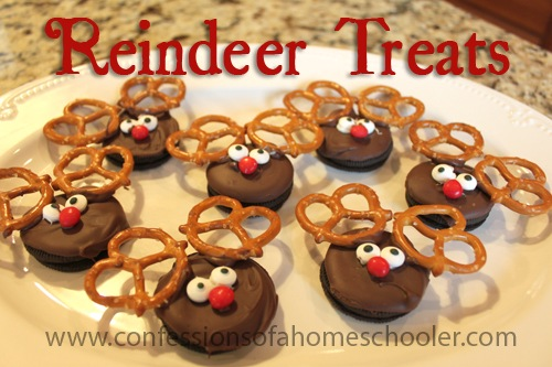 DIY Reindeer Treats!