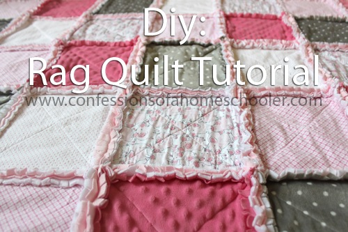 How to make a Rag Quilt: Tutorial