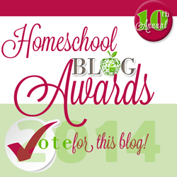 HSBA Homeschool Blog Awards Voting open!