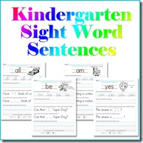 Sight Word Printable Worksheets Confessions Of A Homeschooler - 33+ Printable Worksheets Kindergarten Sight Words Background
