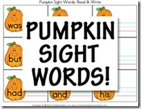pumpkinsightwordcards