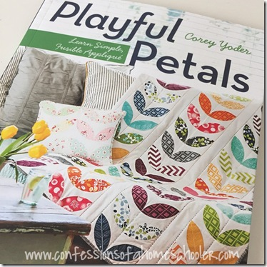 WIP Wednesday: Playful Petals Quilt
