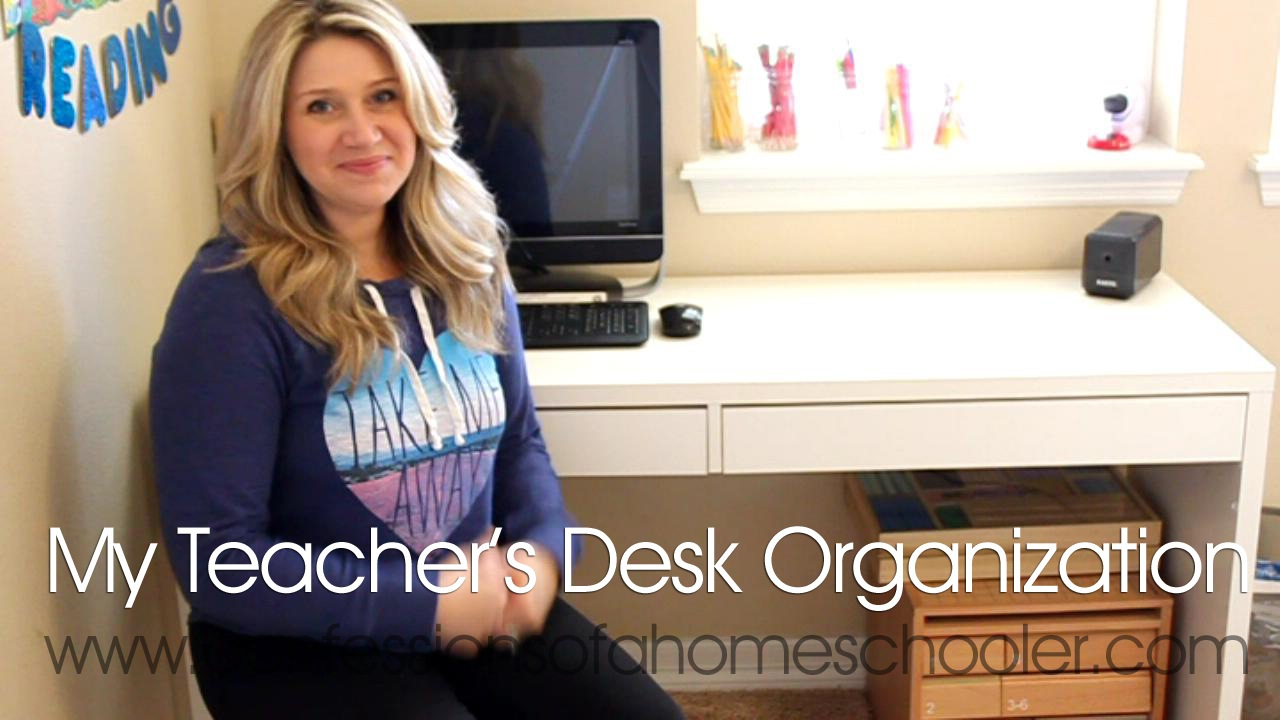 Good Morning Fellow Teachers! Today I Thought It Would Be Fun To Do A Short  Video On How I Organize My Teacheru0027s Desk Area. Itu0027s Kept Full Of All Of  Our ...