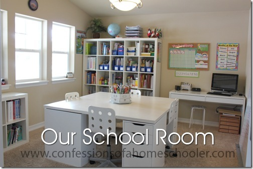 Updated Homeschool Room Tour Confessions Of A Homeschooler