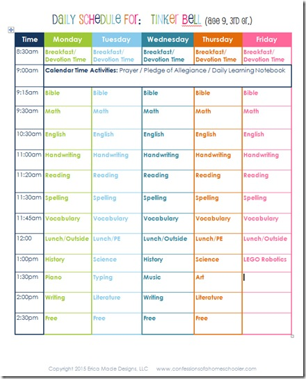 3rdgradeSchedule_2015