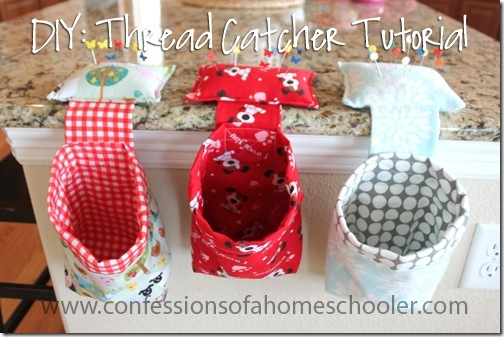 FREE Thread Catcher Tutorial - Confessions of a Homeschooler