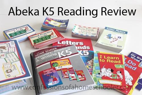 A Beka Book Reading Review – K5