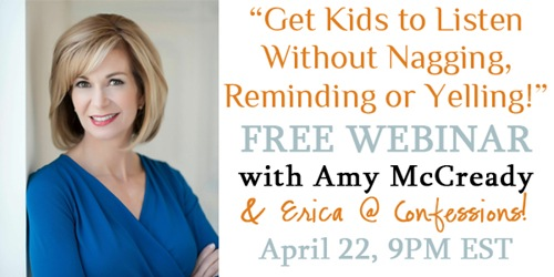 Positive Parenting With Amy McCready–Free Webinar!