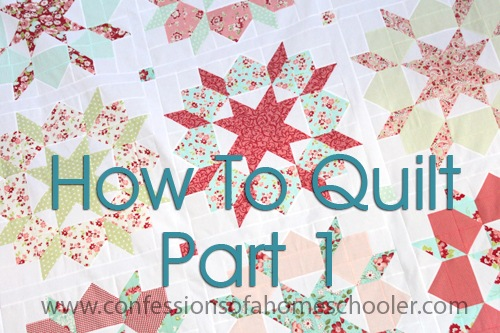 How To Get Started Quilting Part 1 – Basic Supplies
