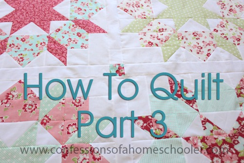 How to Get Started Quilting Part 3 – Let's Talk Fabric!