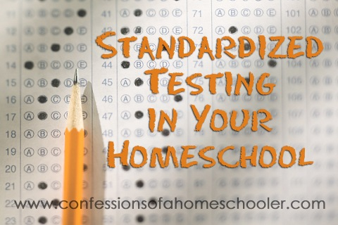 Homeschool & Standardized Testing