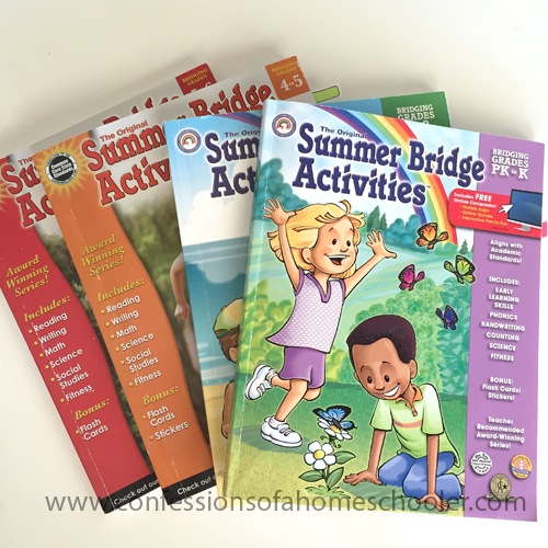 Summer Bridge For Kids a.k.a. Make sure they don't forget it all