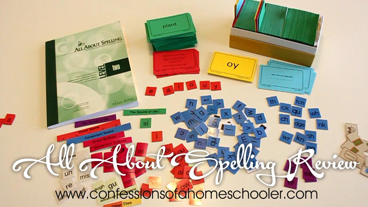 All About Spelling Video Review