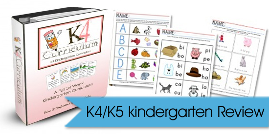 K4 Kindergarten Curriculum Video Review