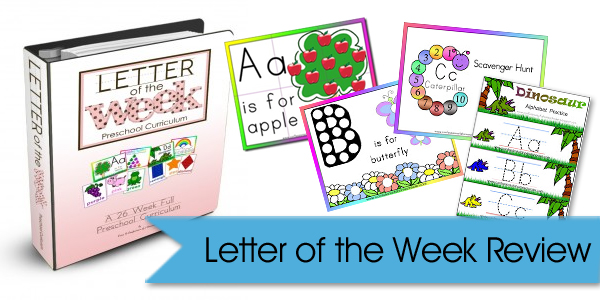 Letter of the Week Video Review