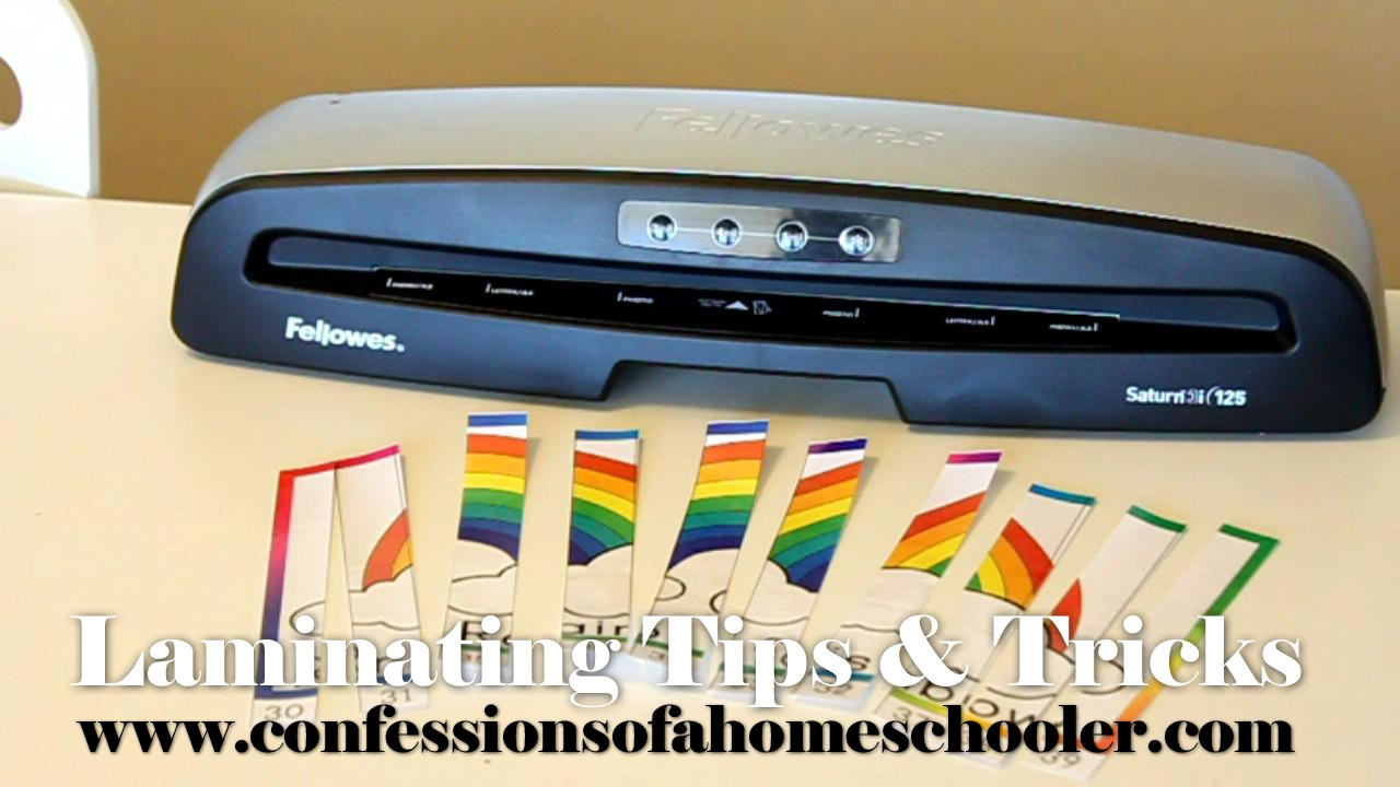 Laminating Tips & Tricks