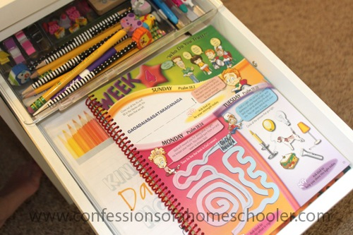 1st Grade Homeschool Workload