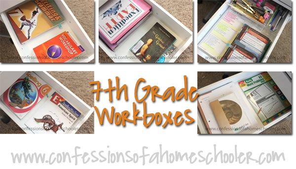 7th Grade Homeschool Workload