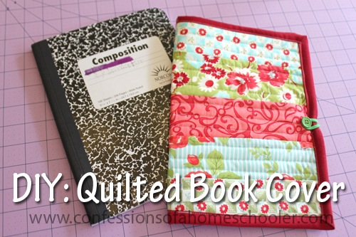 Quilt as You Go Book Cover Tutorial