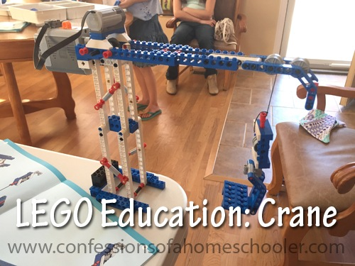 LEGO Education: Weight Bearing Crane