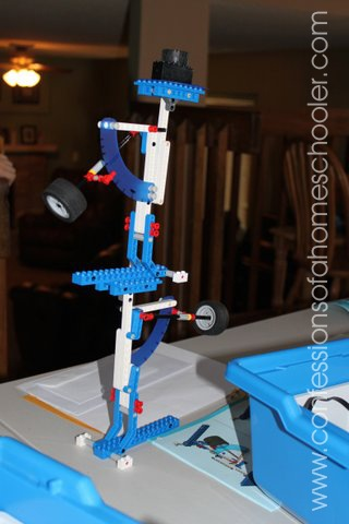 LEGO Education Letter Balance