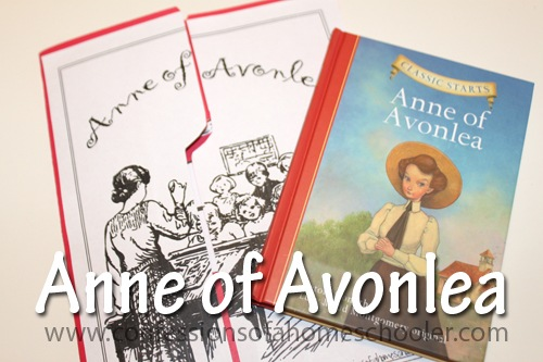 Anne of Avonlea Classic Literature Unit