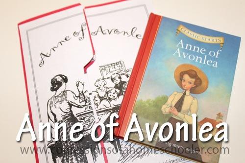 Anne of Avonlea Classic Literature Unit