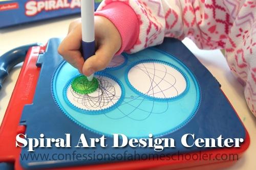 Lakeshore Learning Spiral Art Design Center