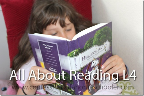 All About Reading Level 4 Review & Giveaway