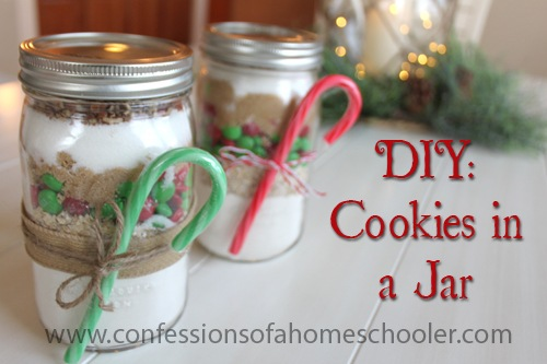 DIY: Cookies in a Jar Gift idea