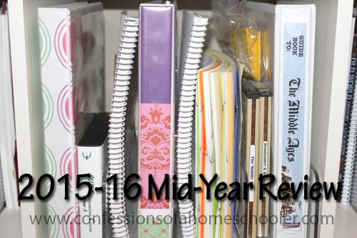 2015-2016 Mid-Year Curriculum Review