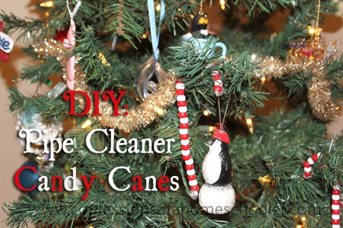 DIY: Pipe Cleaner Candy Canes