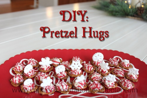 DIY: Holiday Pretzel Hugs Recipe