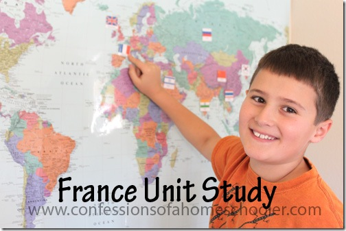 Expedition Earth France Unit Study