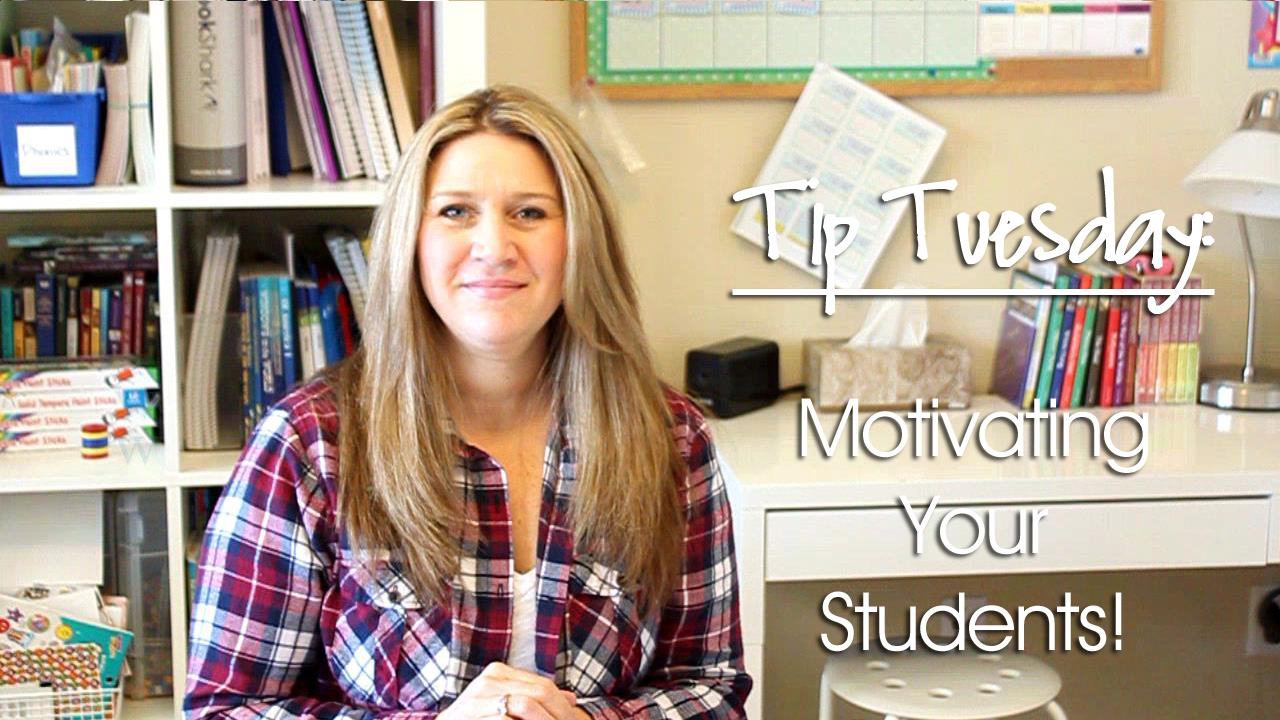 Tip Tuesday: Motivating Your Students