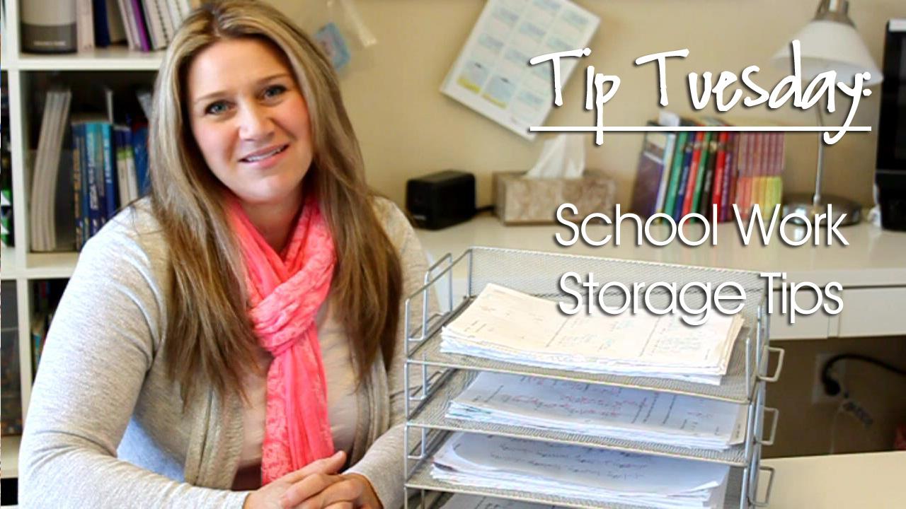 TipTuesday_SchoolWorkStorage