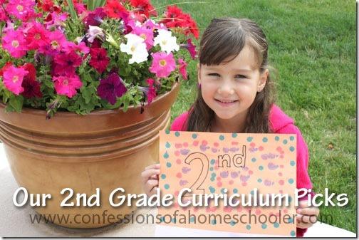 2nd Grade Homeschool Curriculum Picks