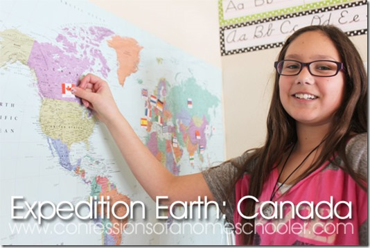 Expedition Earth: Canada Unit Study