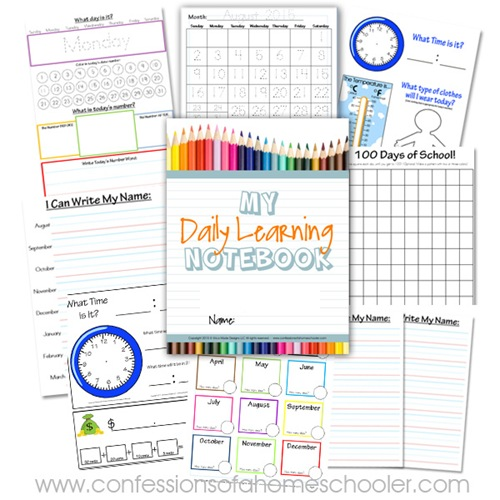 Daily Learning Notebook Australian Version