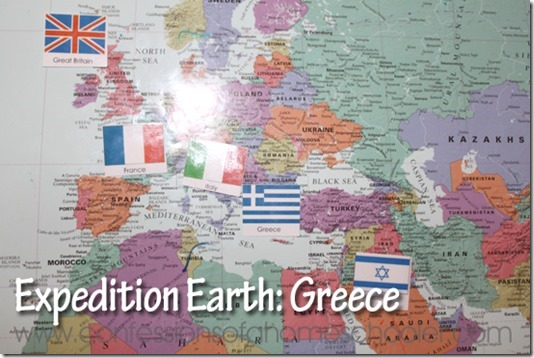 Expedition Earth Greece Unit Study