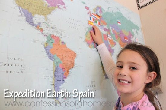 Expedition Earth Spain Unit Study