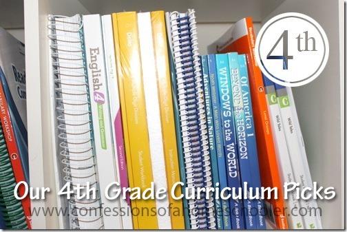 4th Grade Homeschool Top Curriculum Picks