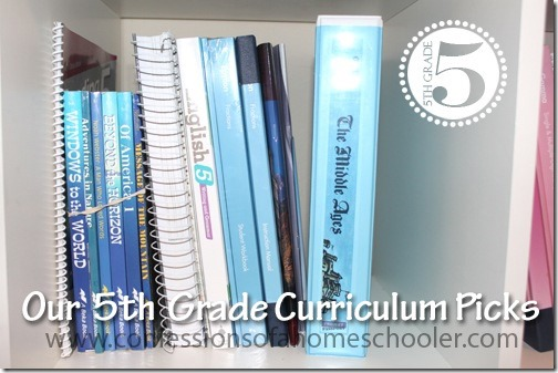 5th Grade Top Homeschool Curriculum Picks