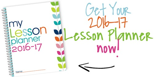 2016-2017 8×10 Homeschool Lesson Planner