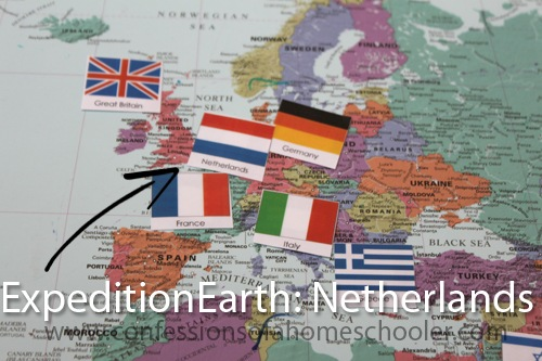 Expedition Earth: Netherlands Unit Study