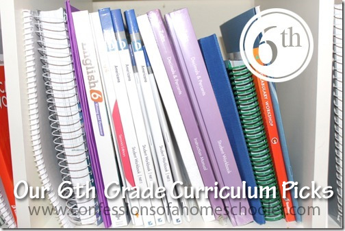 6th Grade Top Homeschool Curriculum Picks