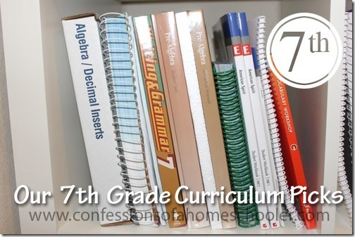 Our Top 7th Grade Homeschool Curriculum Picks