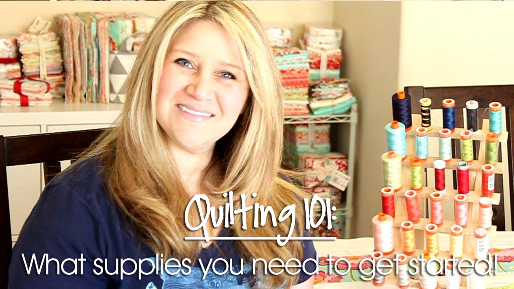 Quilting 101: Recommended Supplies Part 1